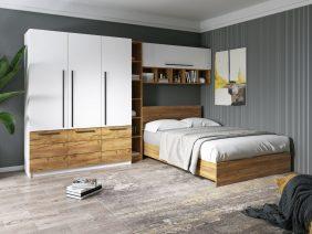 Set Dormitor Timea 3.33m cu pat incadrat
