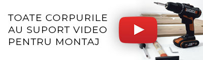 suport video montaj mobila