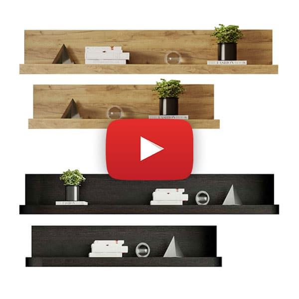 video de montaj Milan Modul F / G Stejar – Polita