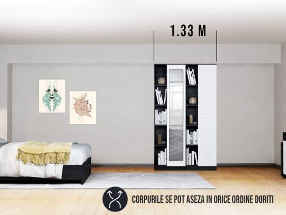 Dressing 1.33m / Dulap Dormitor Mario