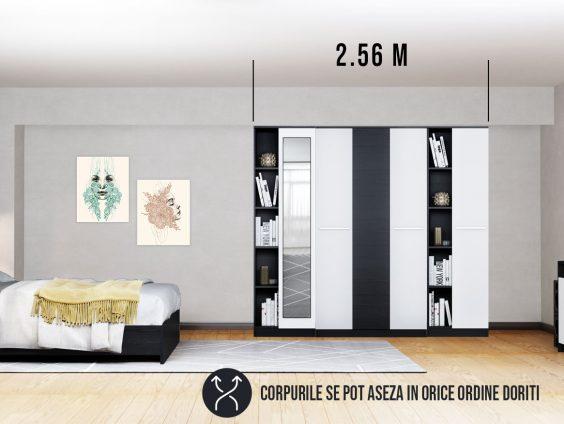 Dressing 2.56m / Dulap Dormitor Mario