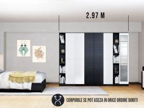 Dressing 2.97m / Dulap Dormitor Mario