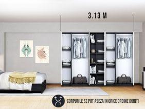 Dressing 3.13m / Dulap Dormitor Mario