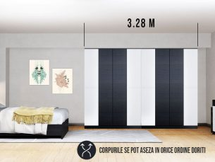 Dressing 3.28m / Dulap Dormitor Mario