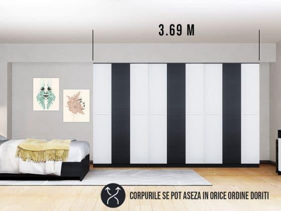 Dressing 3.69m / Dulap Dormitor Mario