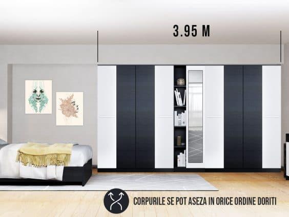 Dressing 3.95m / Dulap Dormitor Mario