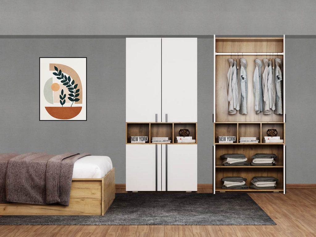 Dulap Dormitor 4U Fox modular