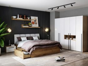 Set Dormitor Fox 07 - Pat Tapitat