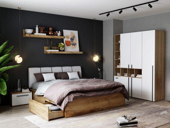 Set Dormitor Fox 09 - Pat Tapitat