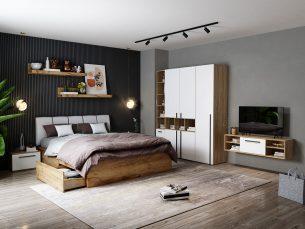 Set Dormitor Fox 10 - Pat Tapitat
