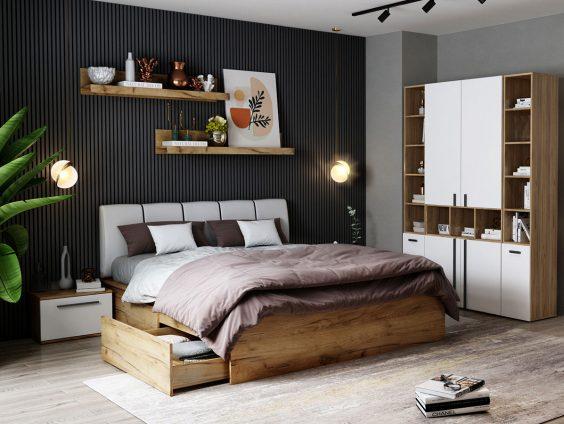 Set Dormitor Fox 11 - Pat Tapitat
