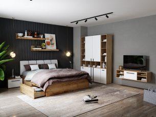 Set Dormitor Fox 12 - Pat Tapitat