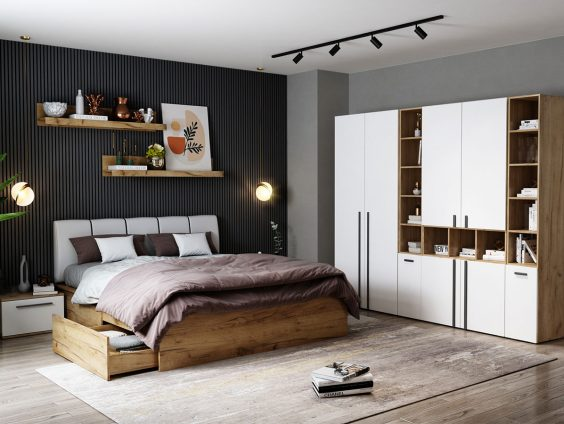 Set Dormitor Fox 13 - Pat Tapitat