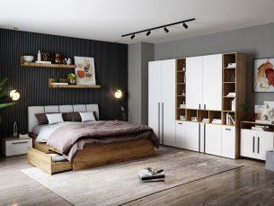 Set Dormitor Fox 14 - Pat Tapitat