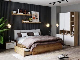 Set Dormitor Fox 15 - Pat Tapitat