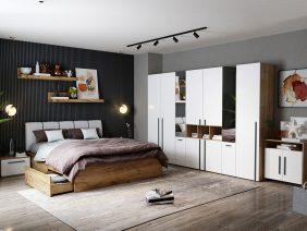 Set Dormitor Fox 20 - Pat Tapitat