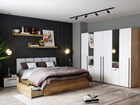 Set Dormitor Fox 29 - Pat Tapitat