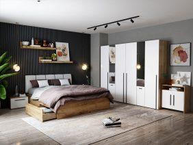 Set Dormitor Fox 30 - Pat Tapitat