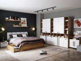 Set Dormitor Fox 32 - Pat Tapitat