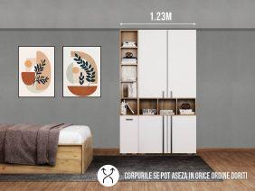 Dressing 1.23m / Dulap Dormitor Fox