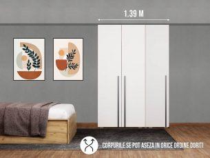 Dressing 1.39m - 3usi / Dulap Dormitor Fox