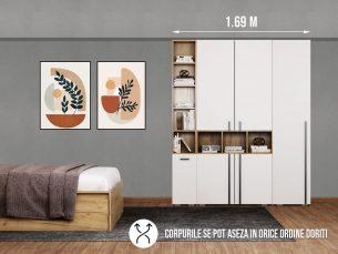 Dressing 1.69m / Dulap Dormitor Fox
