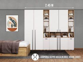 Dressing 2.45m / Dulap Dormitor Fox