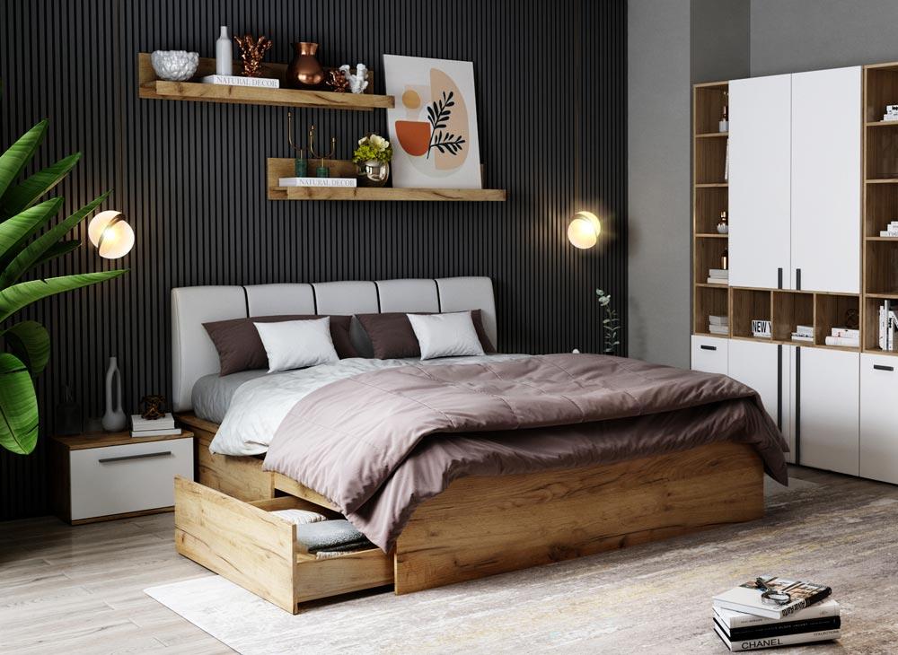 Set 2 Noptiere Dormitor Fox