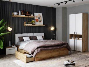 Set Dormitor Fox 01 - Pat Tapitat