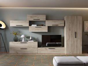 Living Pati 013 - Mobila Sufragerie Stejar