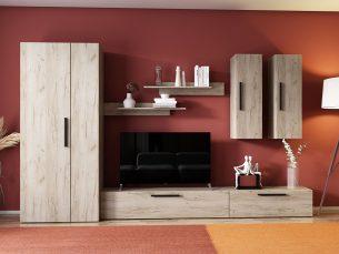 Living Pati 019 - Mobila Sufragerie Stejar