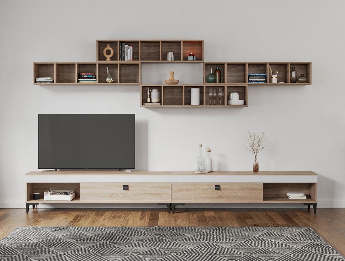 Rafa 13 - Living Scandinav / mobila sufragerie