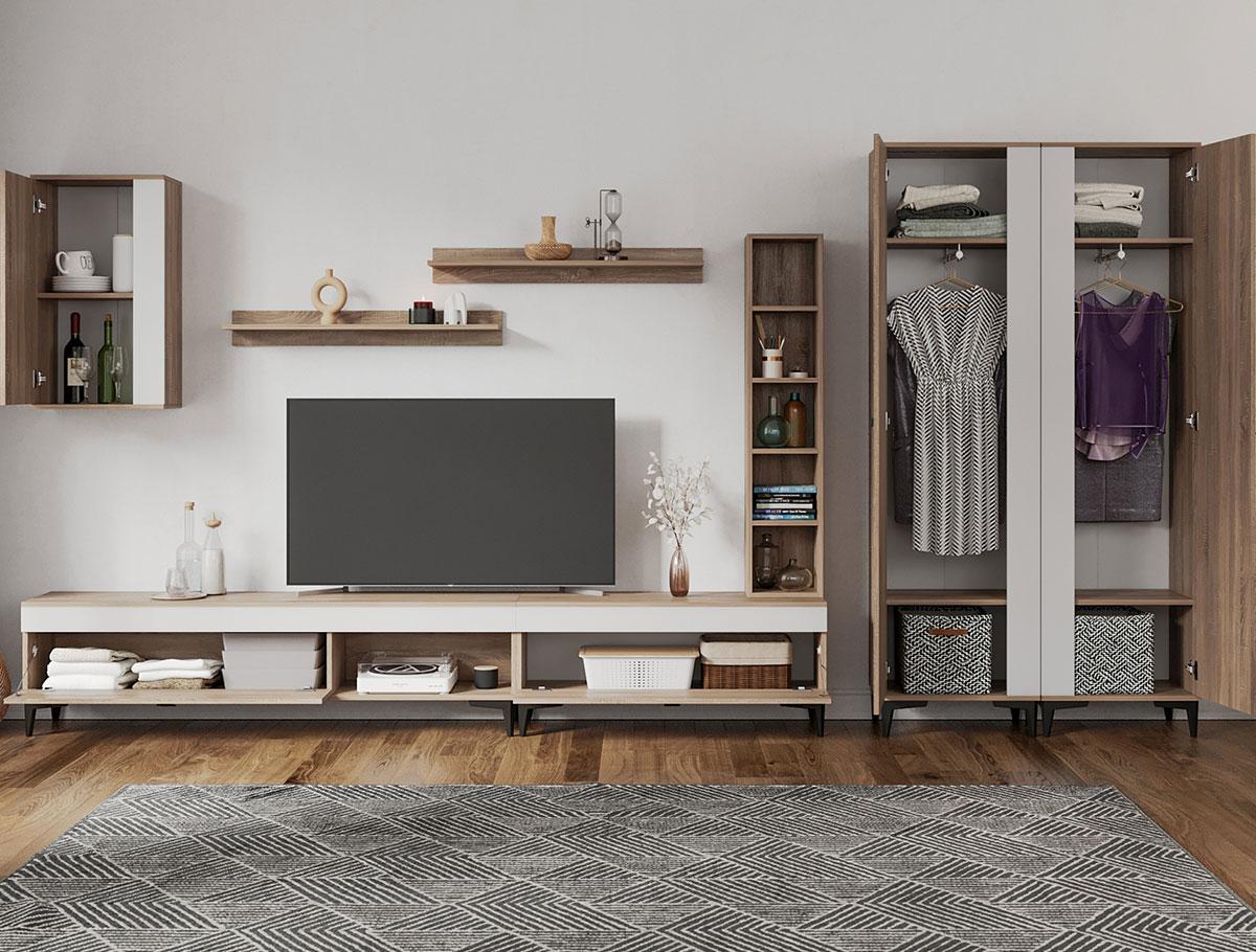 Rafa 25 - Living Scandinav / mobila sufragerie