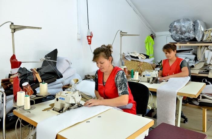 Producția de tapițerii