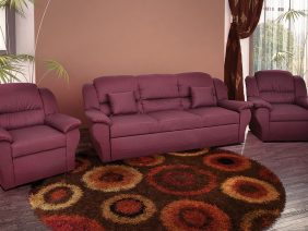 Palma set canapea și fotolii