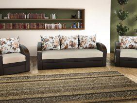 Verona set canapea și fotolii