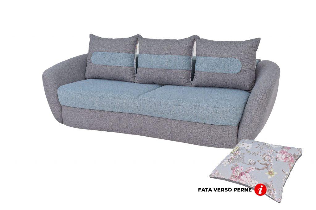 Canapea Velur Arne 83 Extensibila