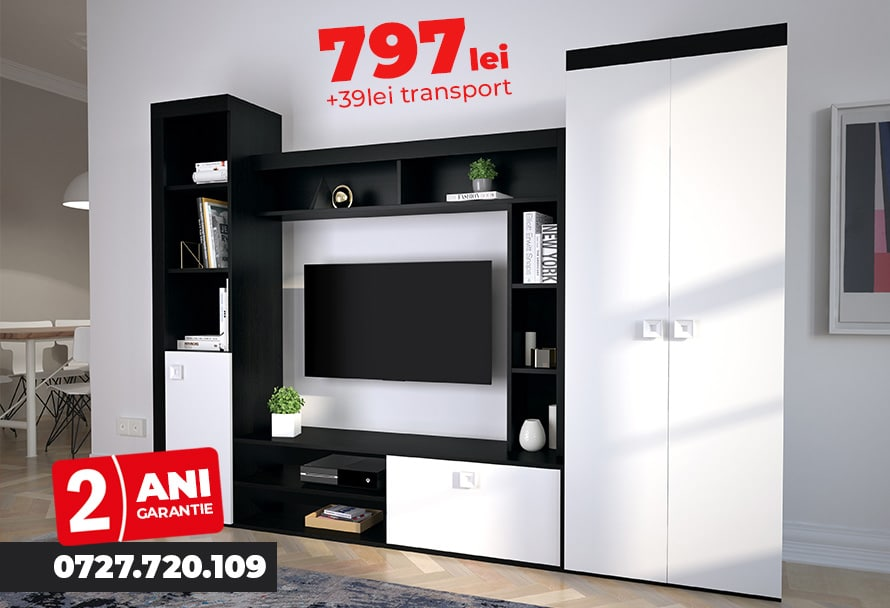 oferta living sufragerie mobila