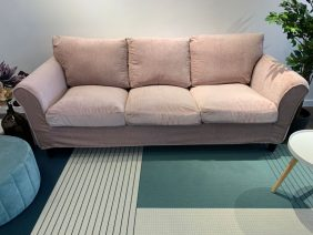Canapea 3 locuri NOVILI Rose / Roz