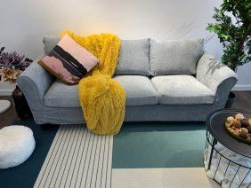 Canapea 3 locuri NOVILI Gray / Gri