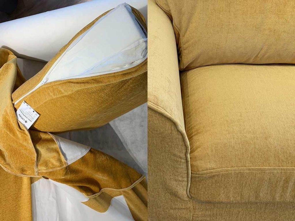 Canapea 3 locuri NOVILI Sun / Galben