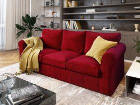 Canapea 3 locuri Extensibila Rosie NOVILI