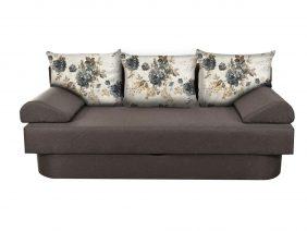 Canapea One stofa gri inchis – Extensibila cu lada