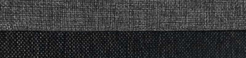 Coltar Cali gri antracit / negru extensibil cu lada