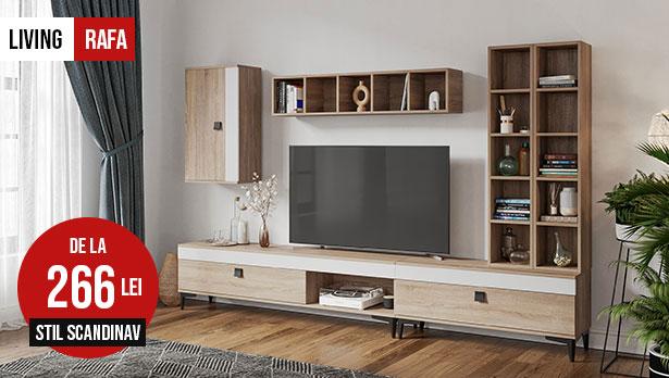 reducere mobila stil scandinav sufragerie living rafa